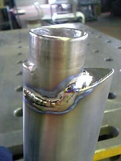 チタン溶接修理